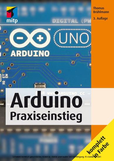 Arduino Praxiseinstieg (mitp Professional) - Blick ins Buch