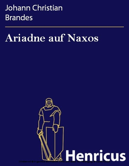 Ariadne auf Naxos - Blick ins Buch