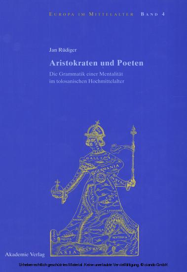 Aristokraten und Poeten - Blick ins Buch