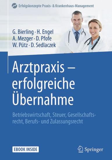 Arztpraxis - erfolgreiche Übernahme - Blick ins Buch