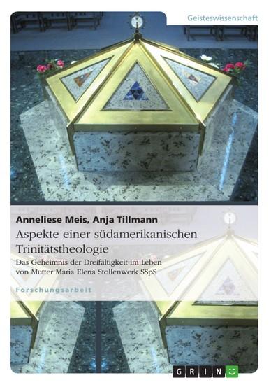 Aspekte einer südamerikanischen Trinitätstheologie - Blick ins Buch