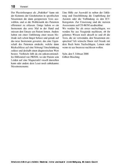 Assessments in der Rehabilitation 3 - Blick ins Buch