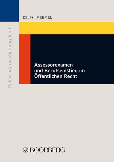 Assessorexamen und Berufseinstieg im Öffentlichen Recht - Blick ins Buch