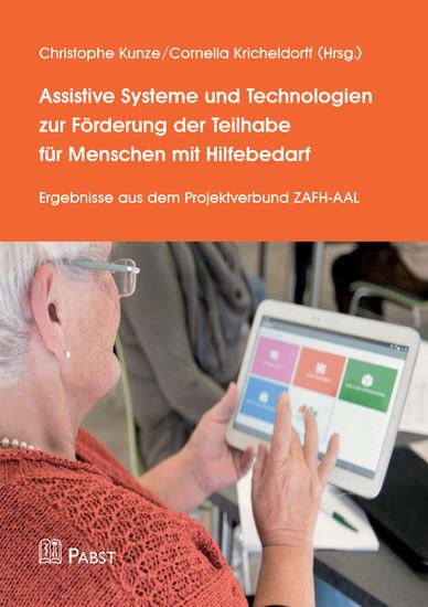 Assistive Systeme und Technologien zur Förderung der Teilhabe für Menschen mit Hilfebedarf - Blick ins Buch