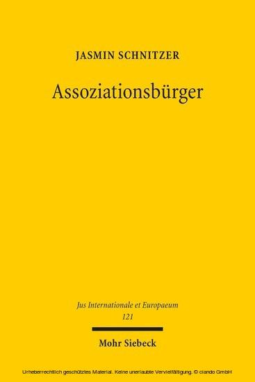 Assoziationsbürger - Blick ins Buch