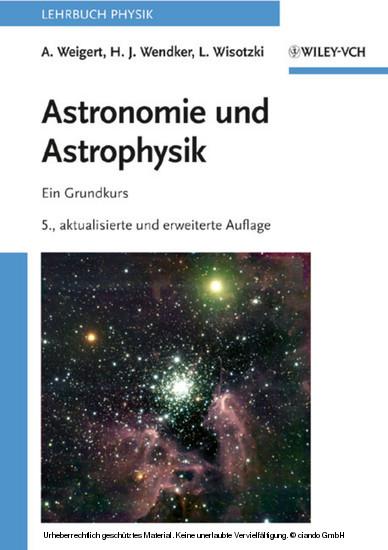 Astronomie und Astrophysik - Blick ins Buch