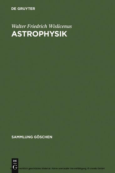 Astrophysik - Blick ins Buch