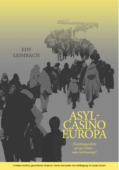 Asyl-Casino Europa - Blick ins Buch