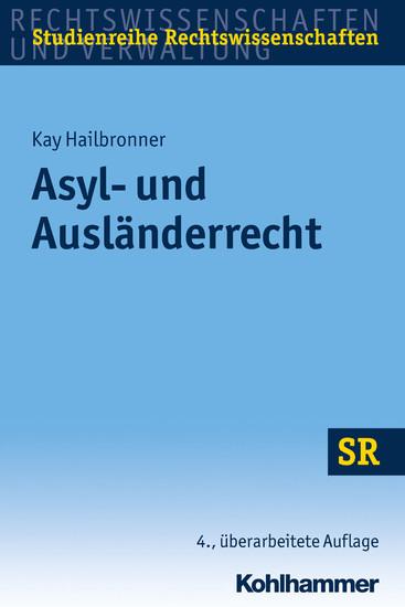 Asyl- und Ausländerrecht - Blick ins Buch