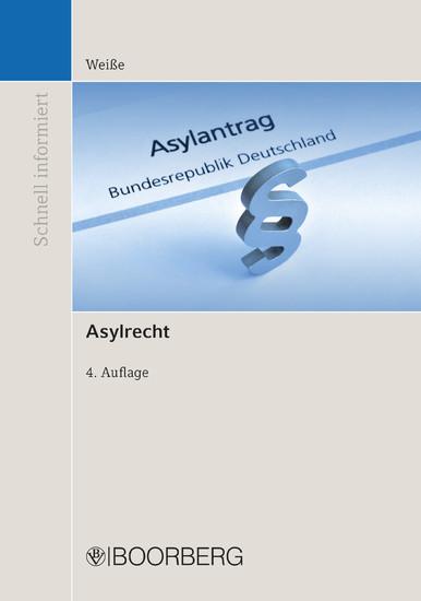 Asylrecht - Blick ins Buch