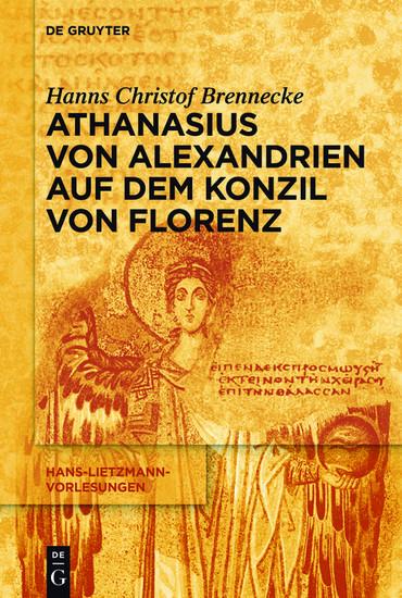 Athanasius von Alexandrien auf dem Konzil von Florenz - Blick ins Buch