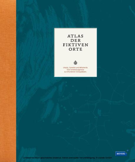 Atlas der fiktiven Orte - Blick ins Buch