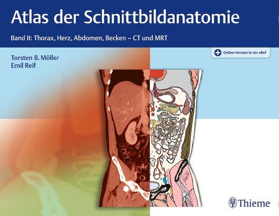 Atlas der Schnittbildanatomie - Blick ins Buch