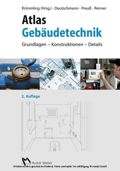 Atlas Gebäudetechnik - Blick ins Buch