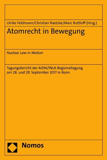 Atomrecht in Bewegung - Blick ins Buch