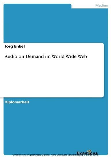 Audio on Demand im World Wide Web - Blick ins Buch
