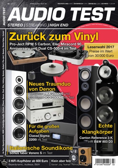 AUDIO TEST 03/2017 - Blick ins Buch