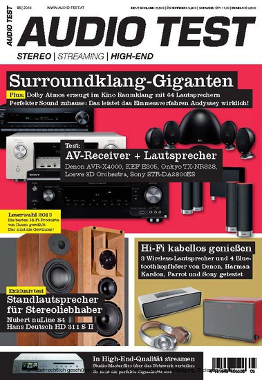AUDIO TEST 05/2013 - Blick ins Buch