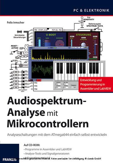 Audiospektrum-Analyse mit Mikrocontrollern - Blick ins Buch