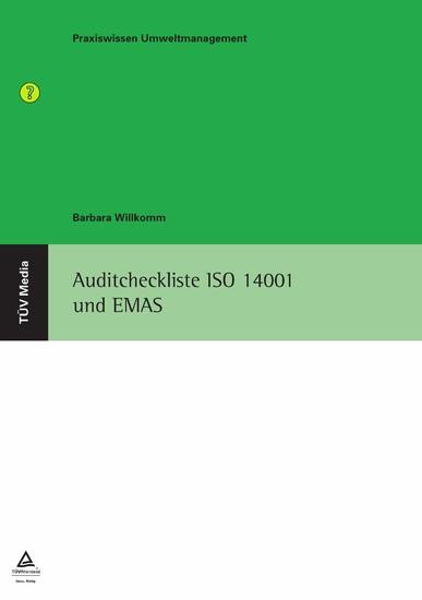 Auditcheckliste ISO 14001 und EMAS - Blick ins Buch