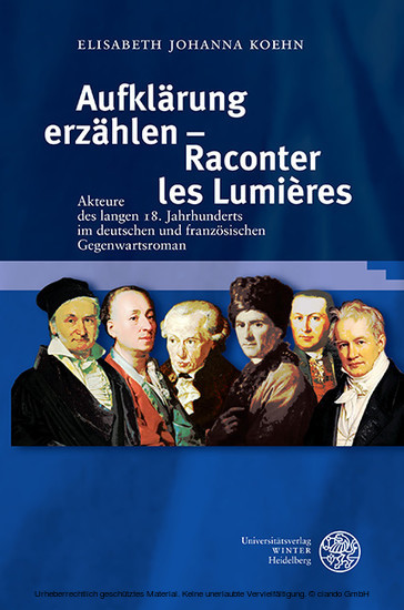 Aufklärung erzählen - Raconter les Lumières - Blick ins Buch