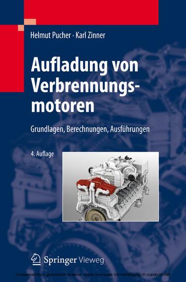 Aufladung von Verbrennungsmotoren - Blick ins Buch
