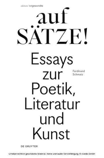 aufSÄTZE! - Blick ins Buch