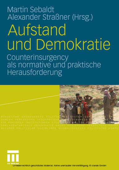 Aufstand und Demokratie - Blick ins Buch