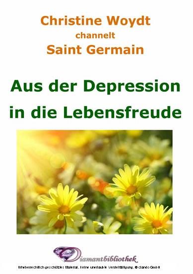 Aus der Depression in die Lebensfreude - Blick ins Buch