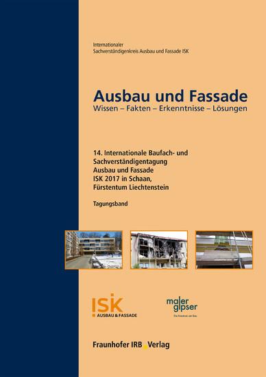 Ausbau und Fassade. - Blick ins Buch