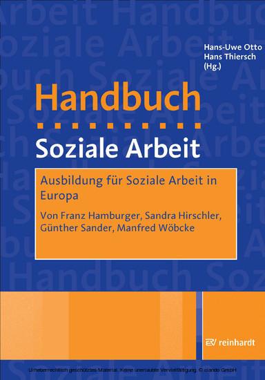 Ausbildung für Soziale Arbeit in Europa - Blick ins Buch