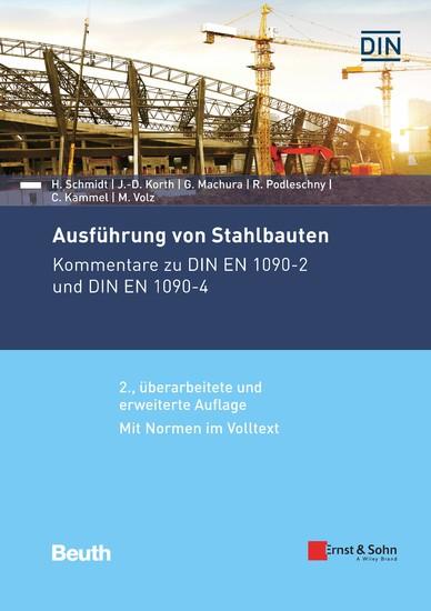 Ausführung von Stahlbauten - Blick ins Buch