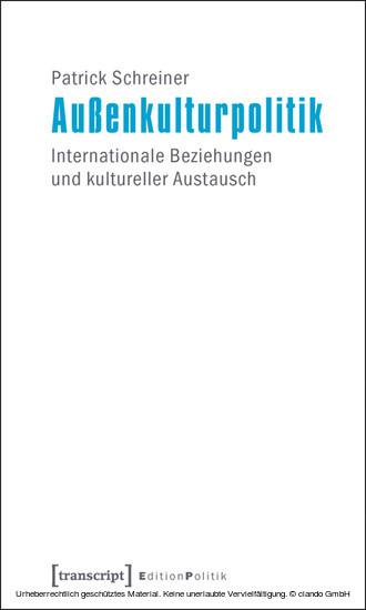 Außenkulturpolitik - Blick ins Buch