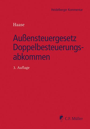 Außensteuergesetz Doppelbesteuerungsabkommen - Blick ins Buch