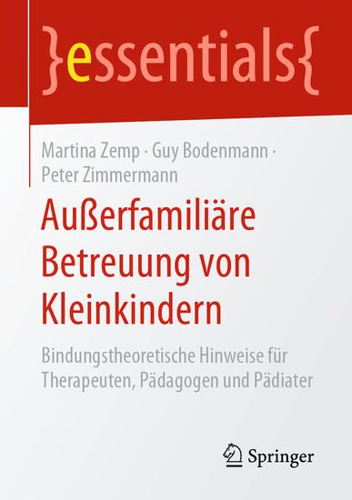 Außerfamiliäre Betreuung von Kleinkindern - Blick ins Buch