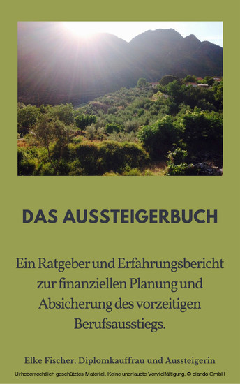 Aussteigerbuch - Blick ins Buch