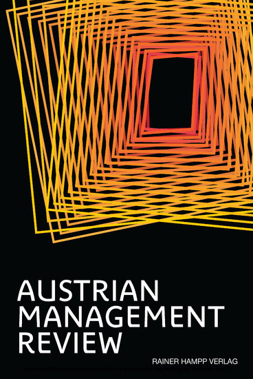 AUSTRIAN MANAGEMENT REVIEW, Volume 2 - Blick ins Buch