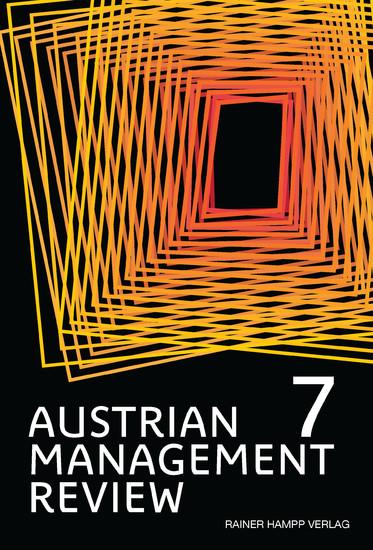 AUSTRIAN MANAGEMENT REVIEW, Volume 7 - Blick ins Buch