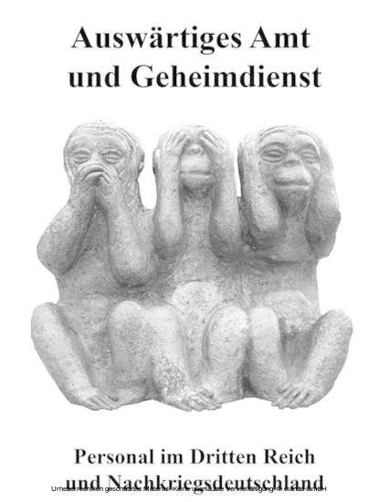 Auswärtiges Amt und Geheimdienst - Blick ins Buch