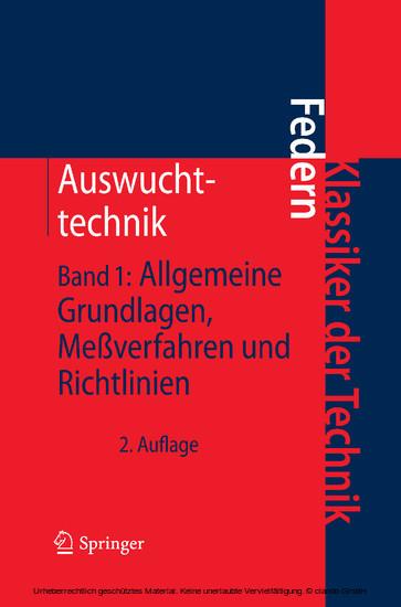 Auswuchttechnik - Blick ins Buch