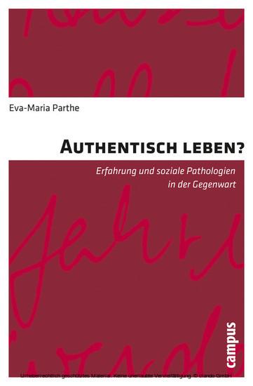Authentisch leben? - Blick ins Buch