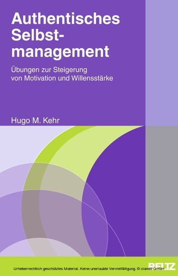 Authentisches Selbstmanagement - Blick ins Buch