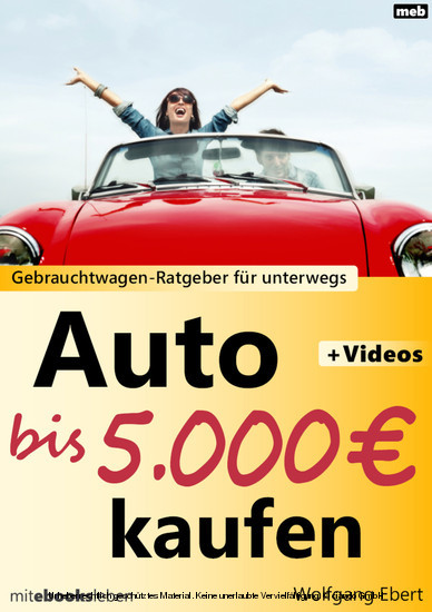 Auto bis 5.000 Euro kaufen - Blick ins Buch