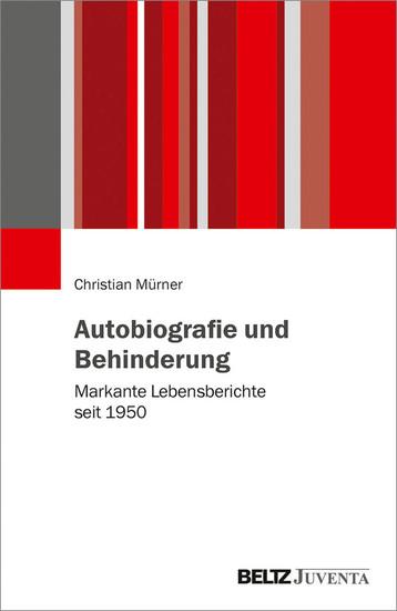 Autobiografie und Behinderung - Blick ins Buch