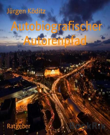 Autobiografischer Autorenpfad - Blick ins Buch
