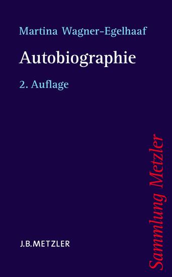 Autobiographie - Blick ins Buch