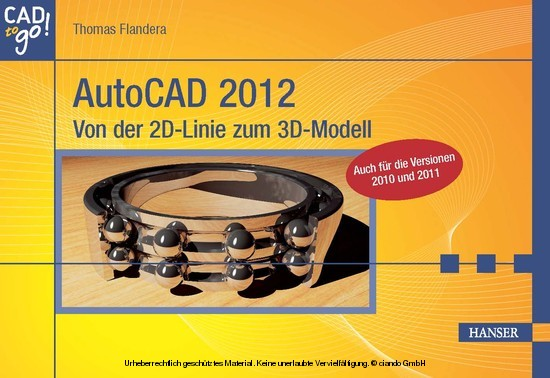 AutoCAD 2012 - Blick ins Buch
