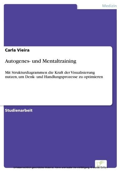 Autogenes- und Mentaltraining - Blick ins Buch