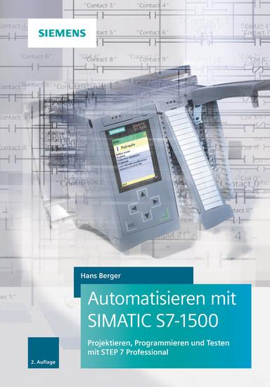 Automatisieren mit SIMATIC S7-1500 - Blick ins Buch