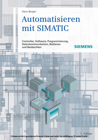 Automatisieren mit SIMATIC - Blick ins Buch
